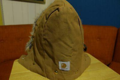 CARHARTT Parka On Detachable Faux NWOT
