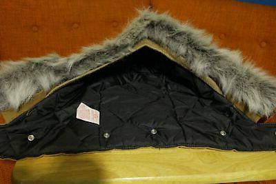 CARHARTT Arctic Parka Hood Snap On Detachable Fur NWOT