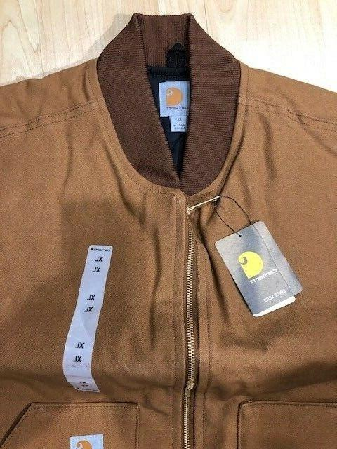 Carhartt Brown NEW quilted lining