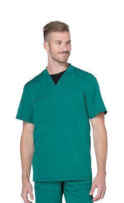 Dickies Dynamix DK610 Men's V-Neck Top Medical Uniforms Scru