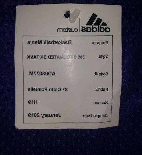 Adidas East Basketball Uniform