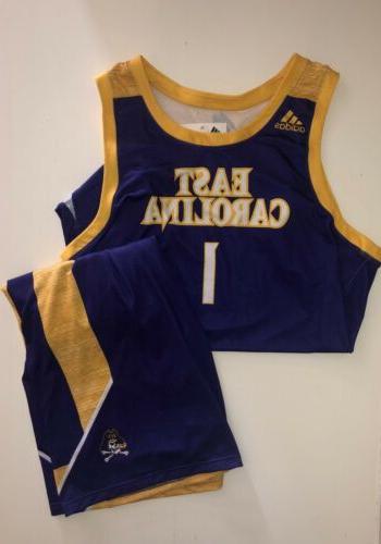 east carolina pirates basketball uniform