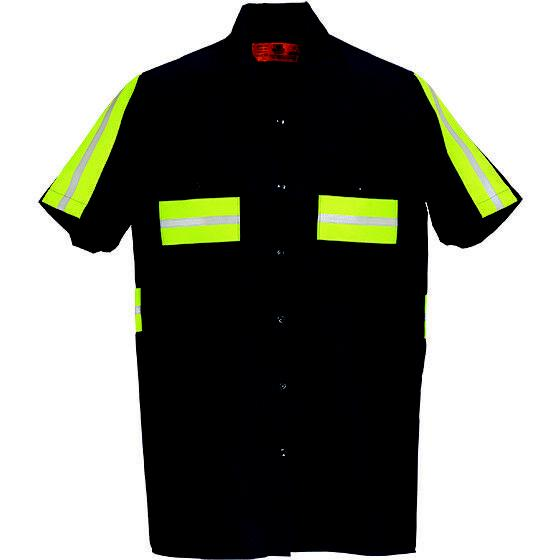 Enhanced Visibility Work Shirts Reflective REED Industrial