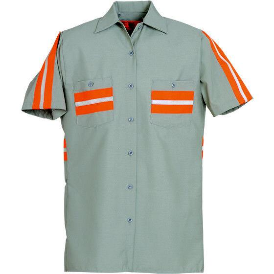 Enhanced Reflective Sleeve Industrial Uniform