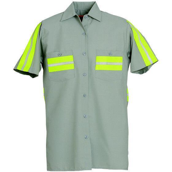 Enhanced Visibility Work Reflective Sleeve Industrial Uniform
