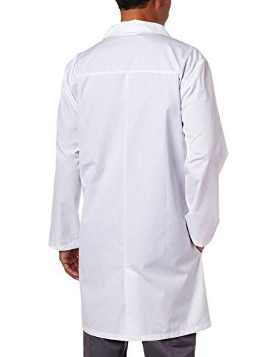 Dickies Scrubs 40 Inch Lab Coat,White,Medium