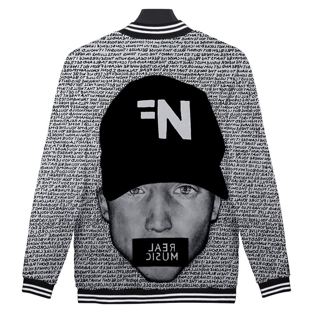F.T Rapper Feuerstein Album Search NF 3D print Baseball Harajuku Baseball <font><b>Jackets</b></font> clothes