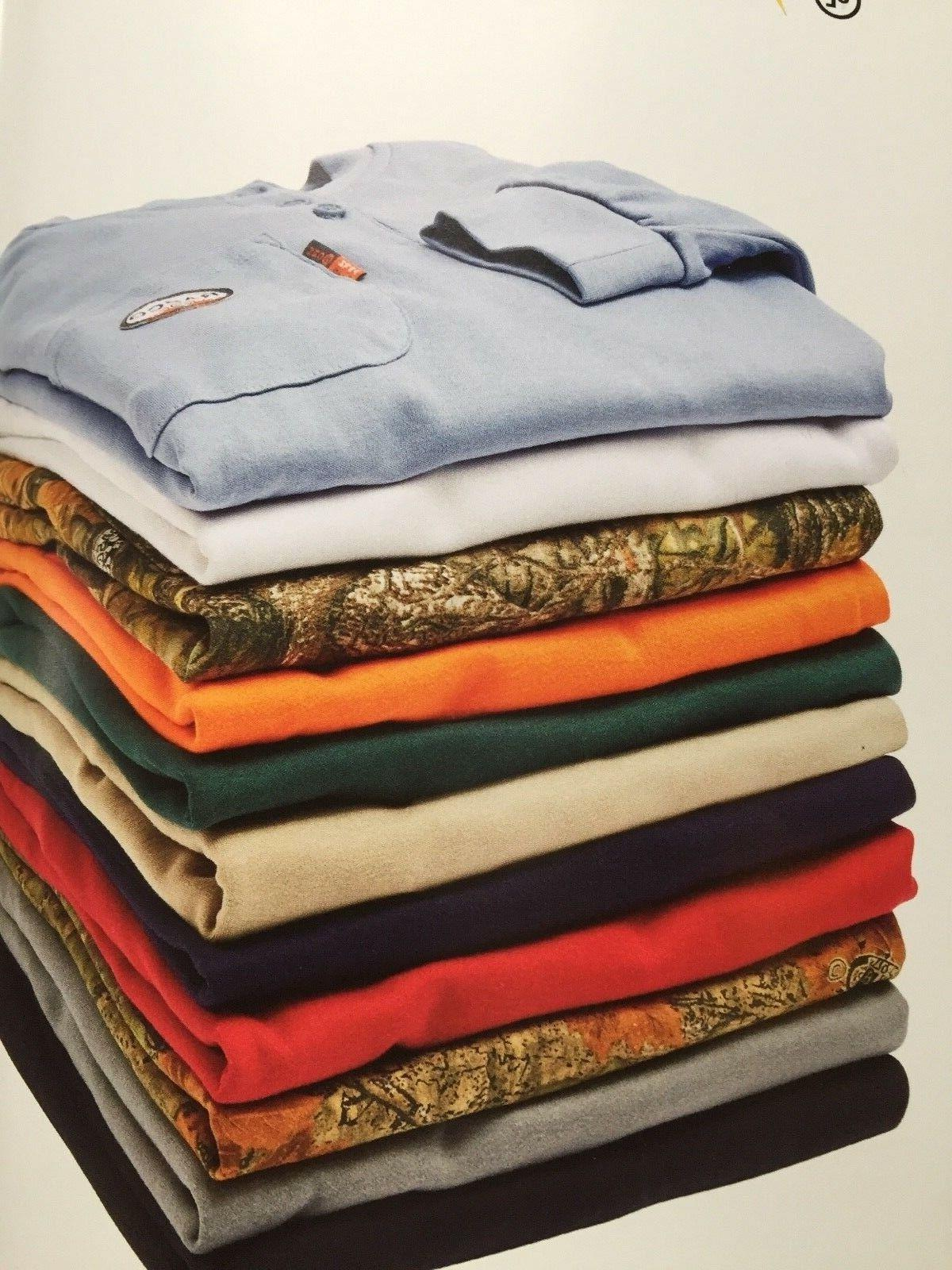 flame resistant henley long sleeve t shirts