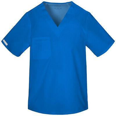 Cherokee Flexibles 2611 Men's V-Neck Top Medical Uniforms Sc