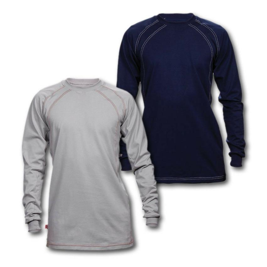 fr clothing shirts flame resistant crew cotton
