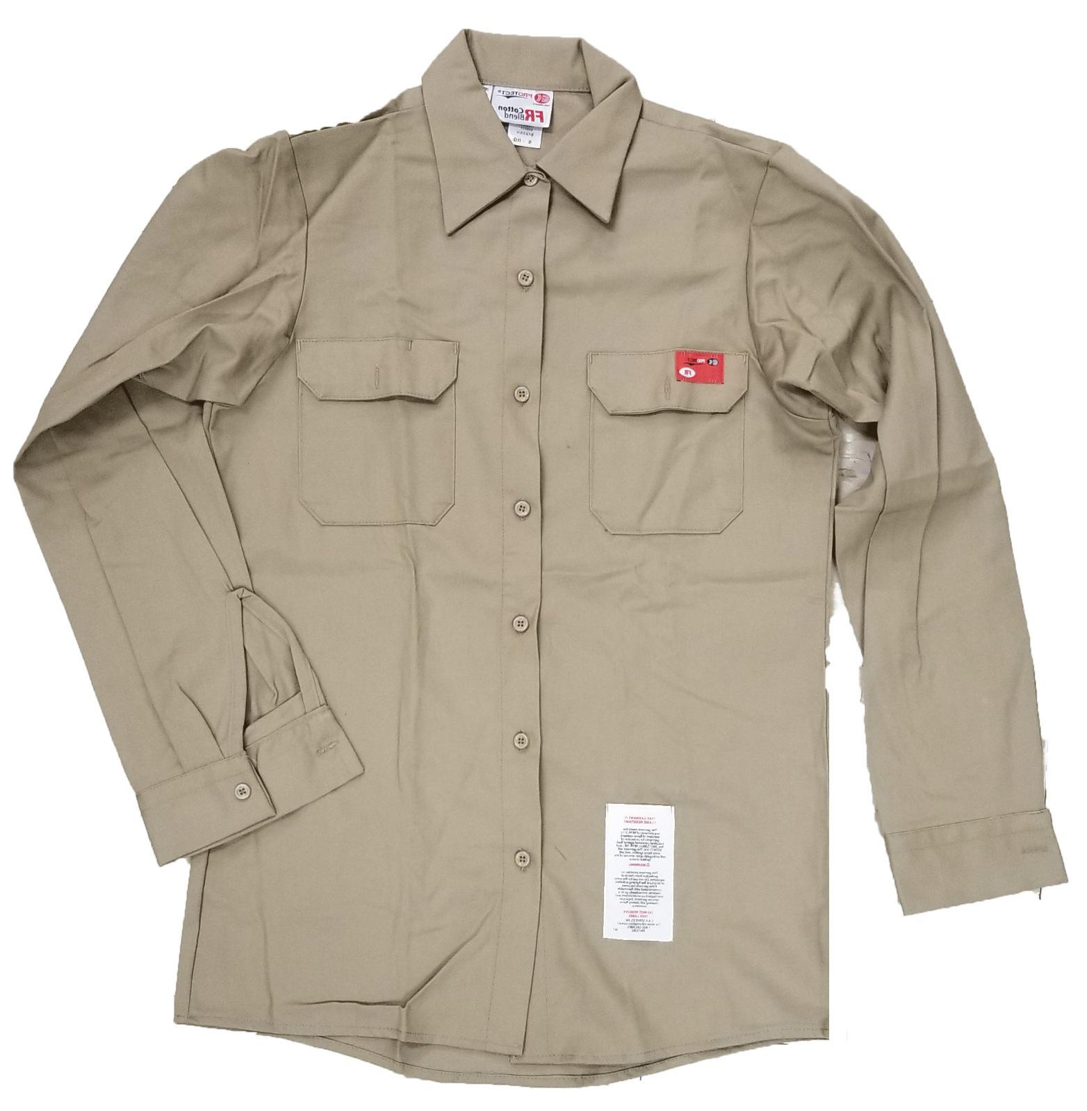 fr flame resistant work shirts protect cotton