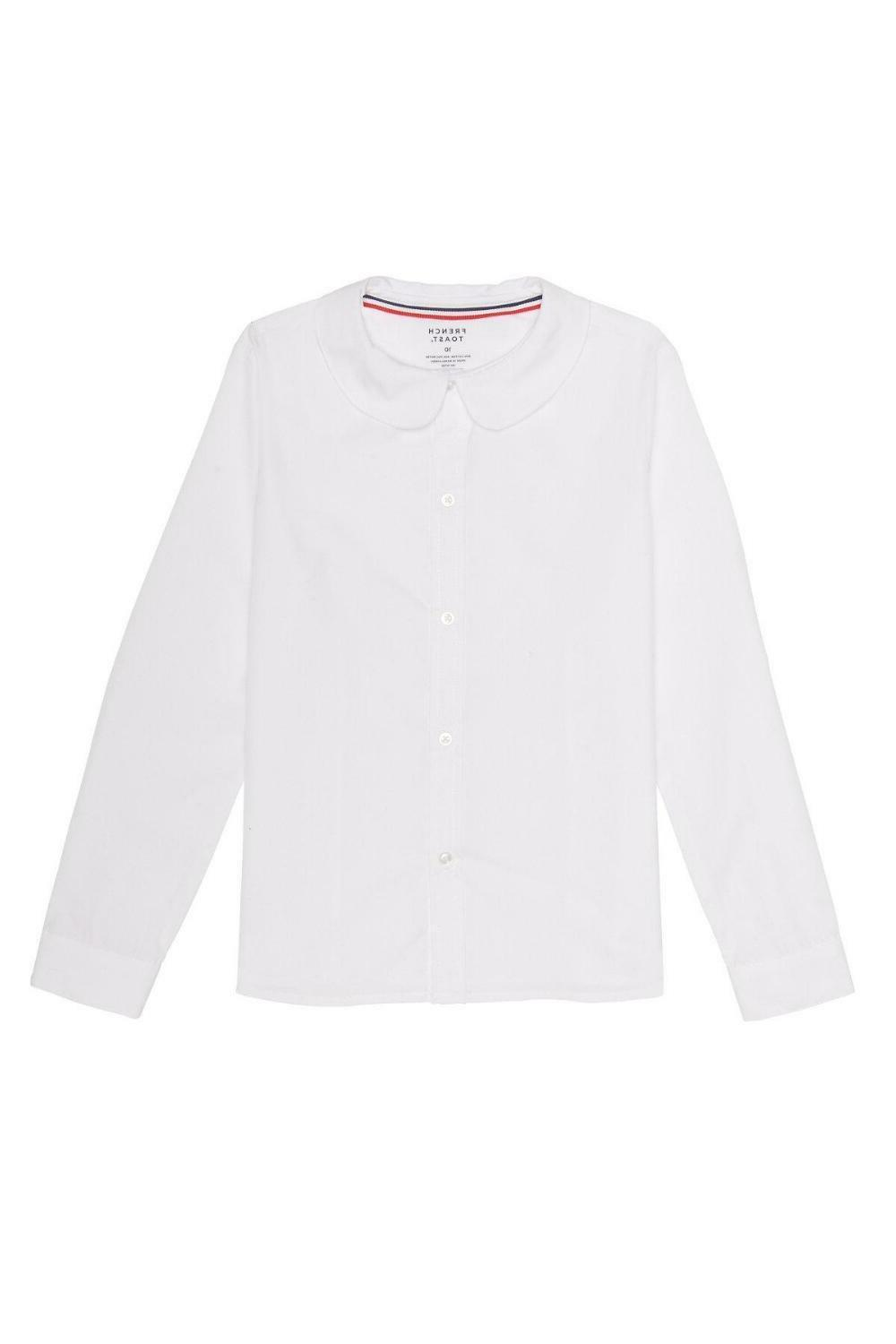 girls l s peter pan poplin blouse