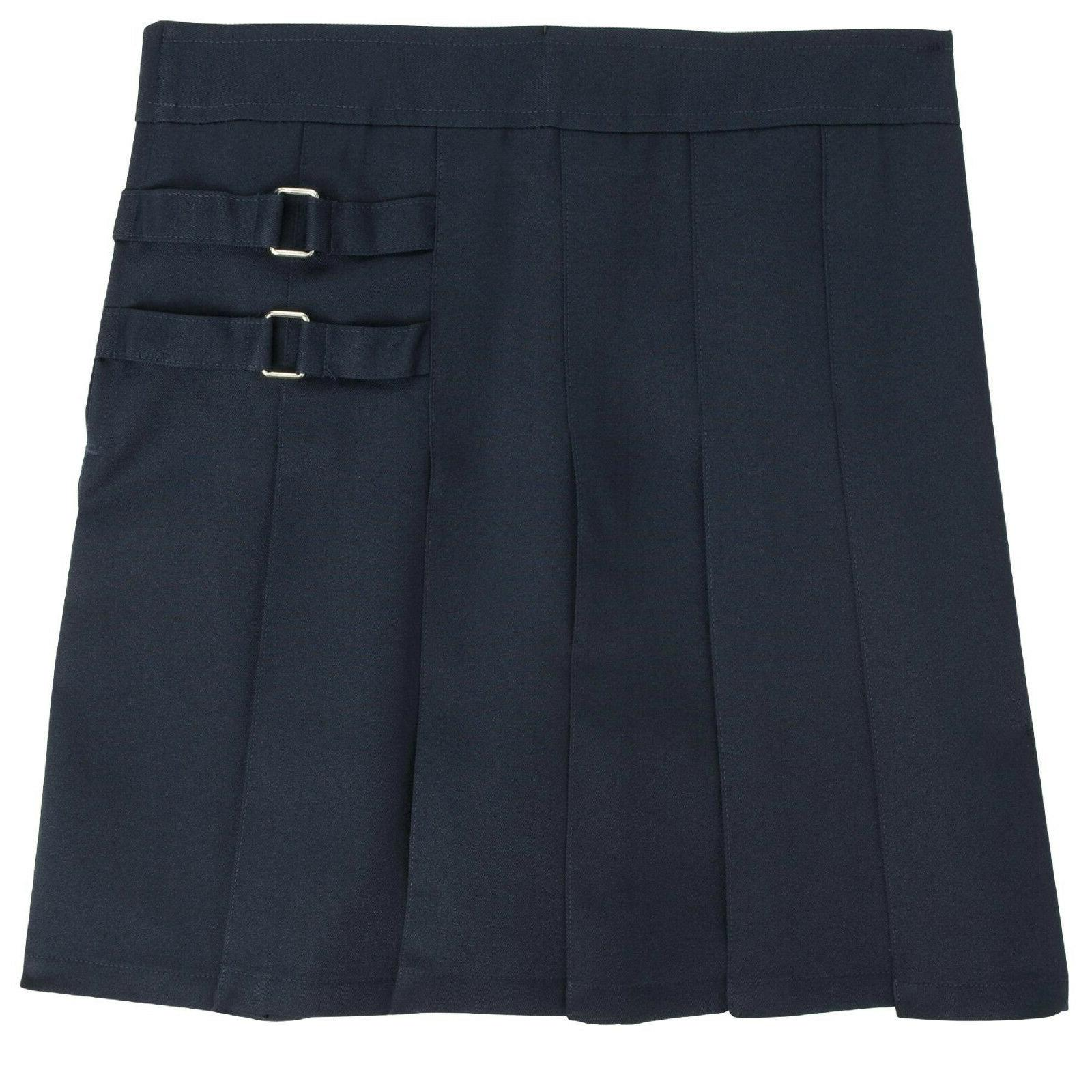Girls Navy Skort Two Tab Scooter French Toast School Uniform