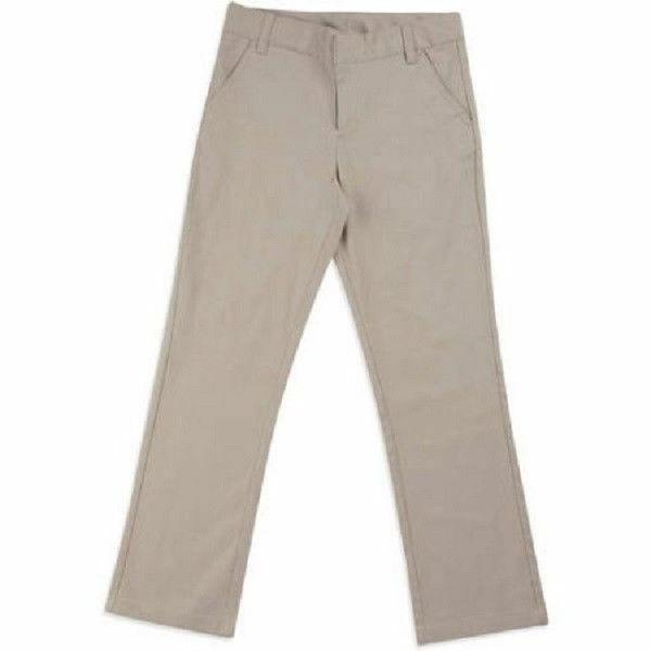 George Girls' School Uniforms Flat Front Pants