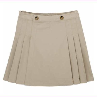 girls skirt skort scooter school uniform adjustable