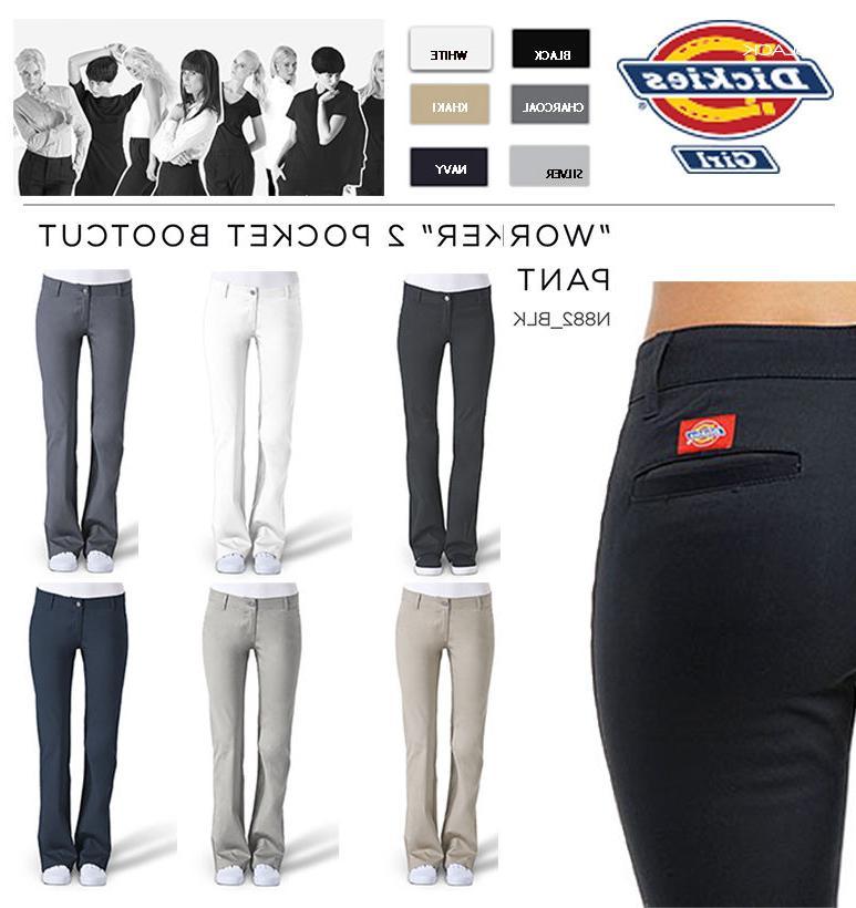 girls slim fit boots cut pants n882