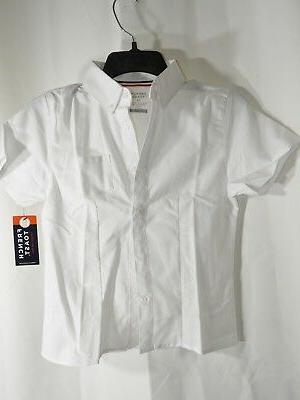 Girls Button Shirt + Skirt Size 12, NEW W/