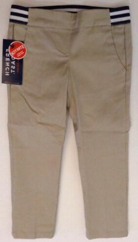 French Uniform Pants Elastic On Size Tan Leg