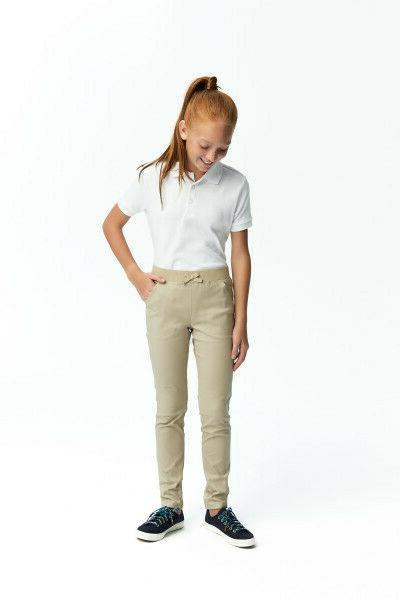 French Girls Uniform Short Interlock Shirt