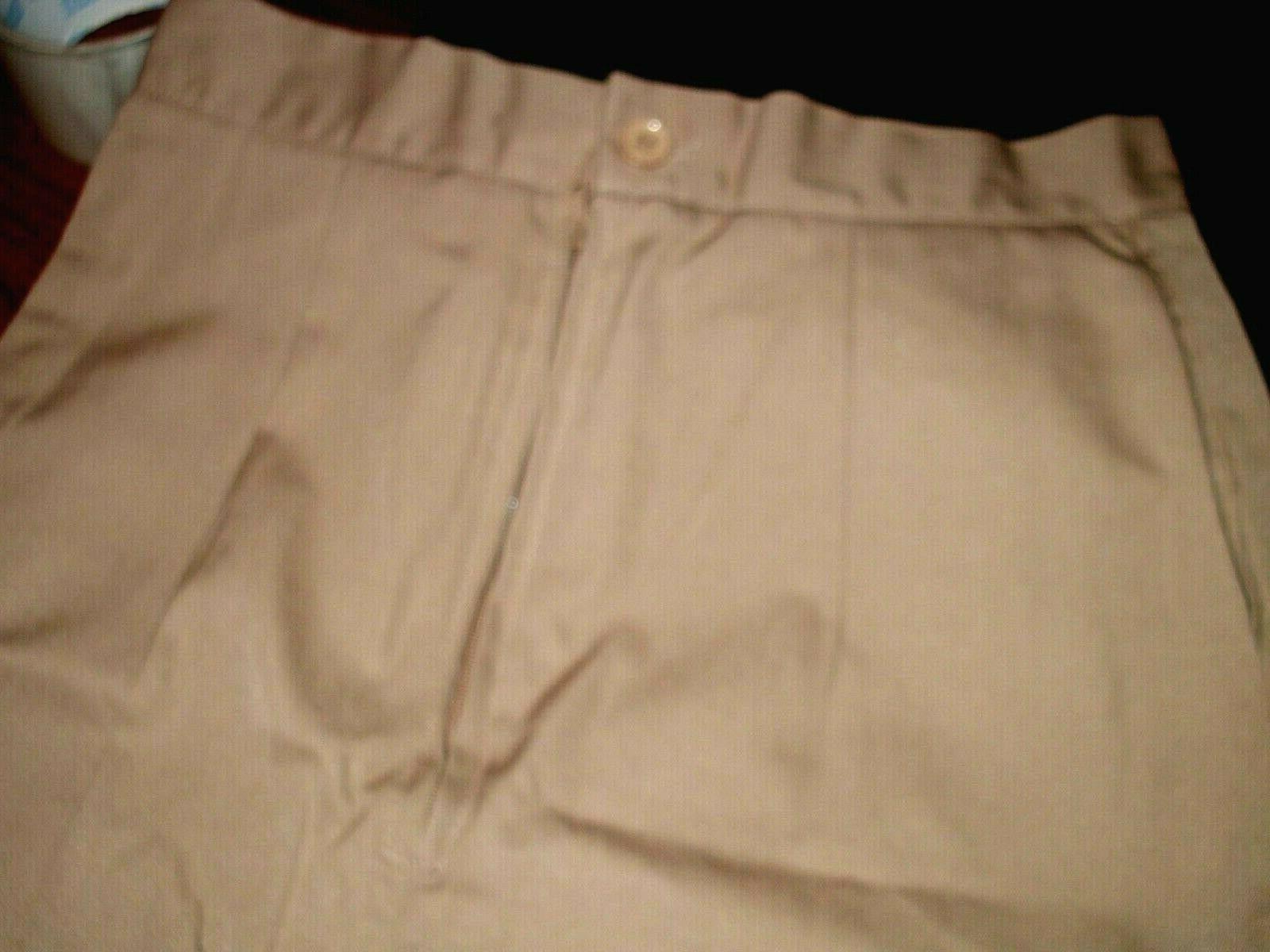 Khaki/Navy Cotton Blend 4,6,810,12 18 20