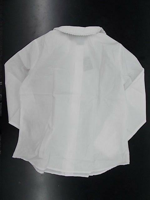 Girls Toast White Shirt Pan Sz