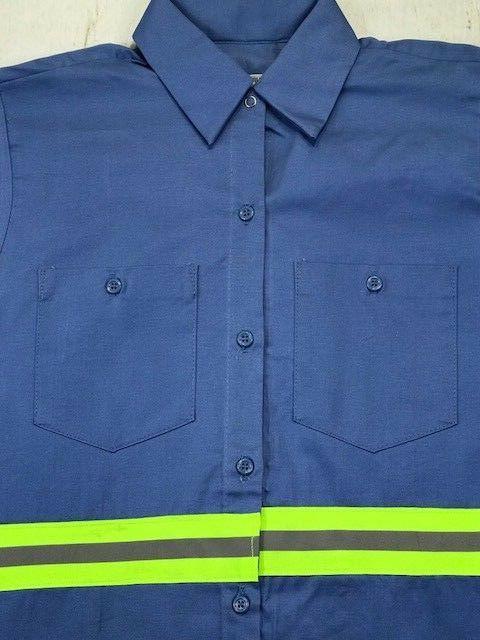 Hi Reflective Shirts Safety Work 100%