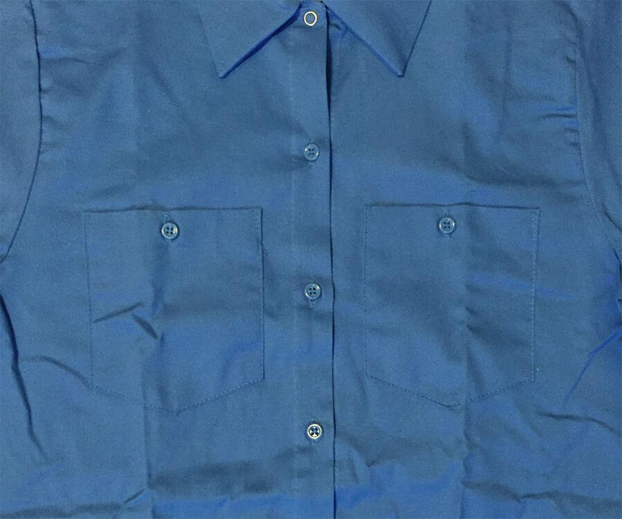 NEW! Work Shirt 100% Cotton - Light Blue