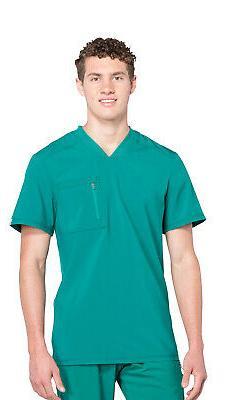 Infinity by Cherokee CK910A Men's V-Neck Top Medical Uniform
