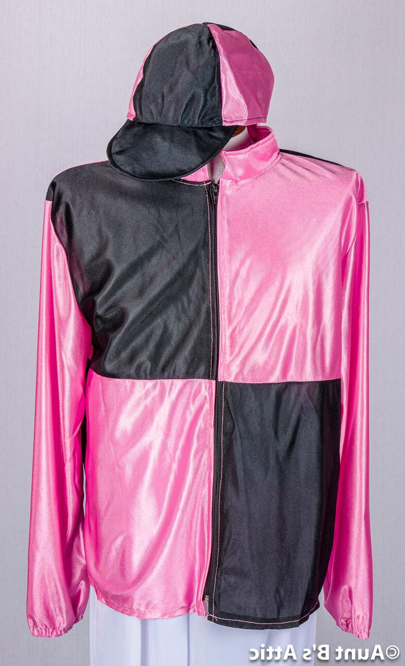 Jockey 6pc Pink/Black/White Kentucky Derby Men's Jockey Unif