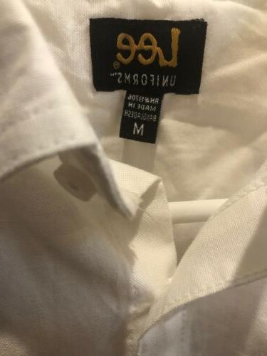 Lee Uniforms Long-Sleeve Oxford Blouse. NWT.