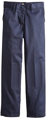 Dickies Khaki Big Boys' Flex Waist Stretch Pant, Dark Navy,