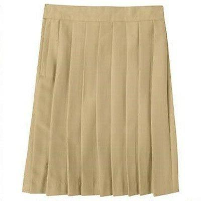 Khaki Tan Pleated Skirt French Toast Official School Uniform