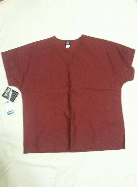 Barco Large Wine Men's Scrub Top SG101