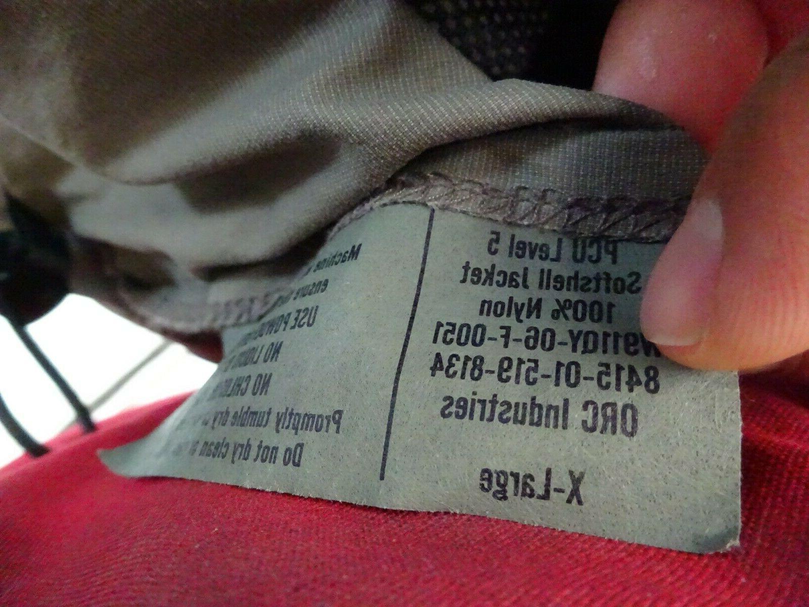 PCU Level Softshell Jacket large regular