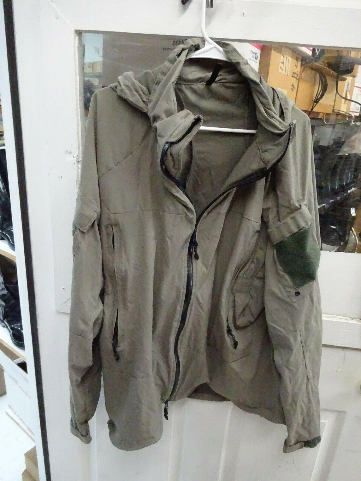 level 5 softshell jacket size x large