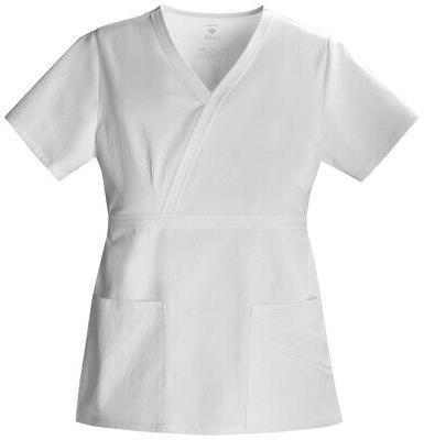 Cherokee Luxe 1841 Women's Mock Wrap Top Medical Uniforms Sc