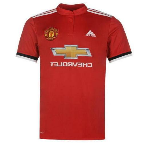 Adidas Manchester United 15 Set of Soccer Team Uniform 2017-