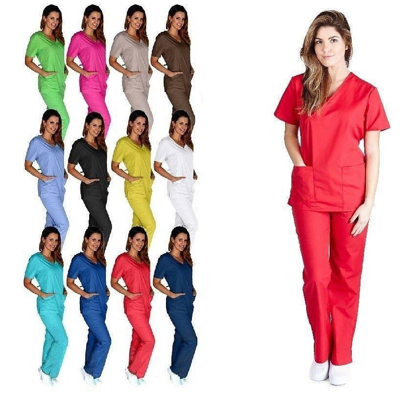 md medical women scrub set size xs