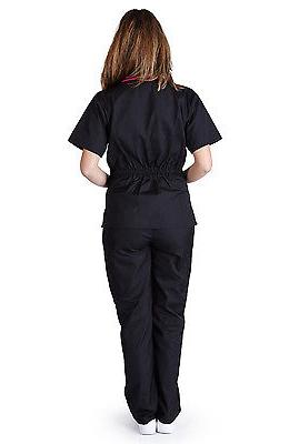 Medical Women Natural Uniforms Contrast Sets XS - XL