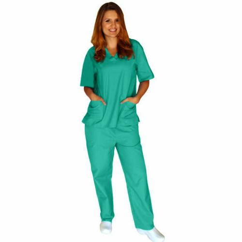 Medical Solid Set & Uniform XS-5XL