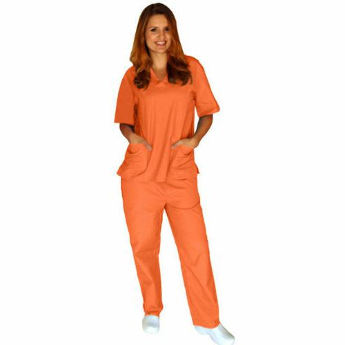 Medical Solid Scrub & XS-5XL