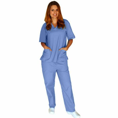 Medical Solid Set Top & XS-5XL