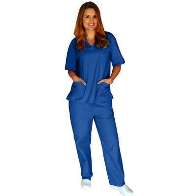 Medical Women Unisex Scrub Pants Hospital Clinic Uniform