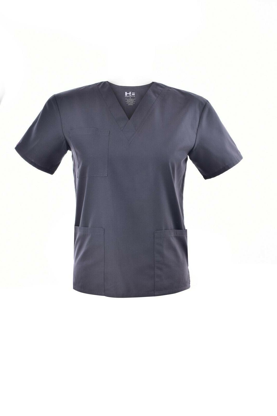 Unisex V-Neck Pant Men Uniform