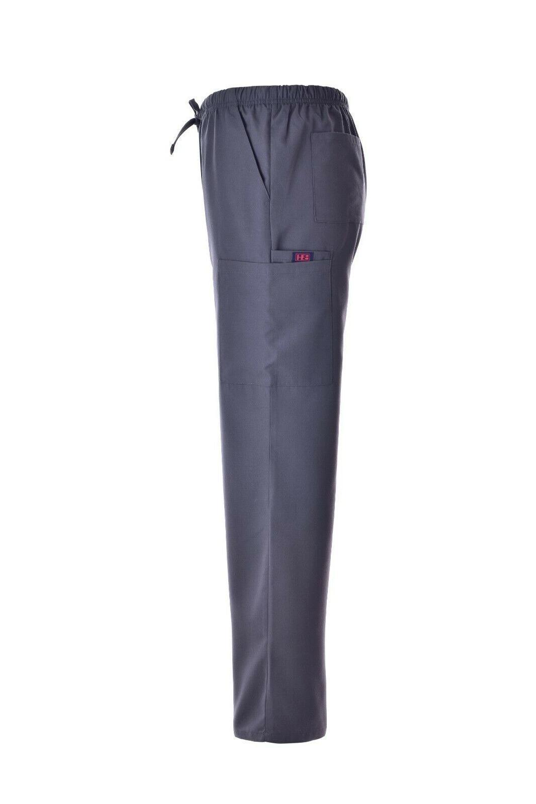 Unisex Sets V-Neck Cargo Men Nursing Uniform