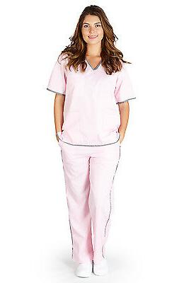 Medical Nursing NATURAL UNIFORMS Contrast XS S M XL 2XL