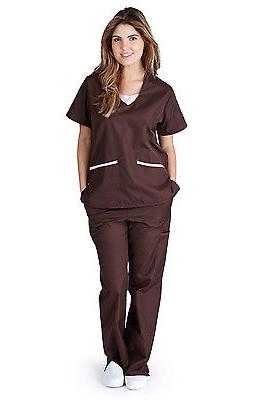 Medical NATURAL UNIFORMS Contrast Full Set