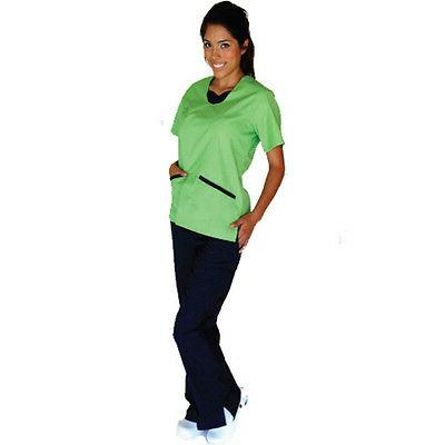 Medical NATURAL Contrast Full Set Top Pants