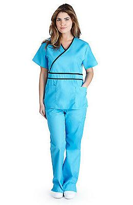 Medical Scrubs NATURAL Sets Size XS 3XL