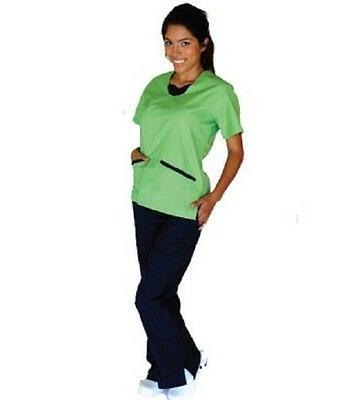 Medical UNIFORMS Contrast JERSEY Set 1077 Medical Uniform